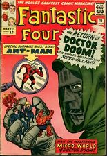 Fantastic Four 16 KEY 1st ANT-MAN Crossover 1963 Jack Kirby Stan Lee DOOM Marvel