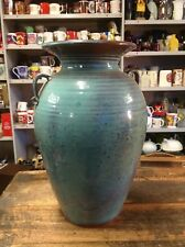 BRT Very Large Beautiful Signed Studio Pottery Art Vase Excellent Condition
