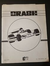 Original 1979 Exidy Crash Arcade Game Manual Specs Schematics Diagrams