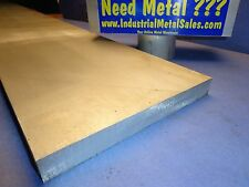 """6061 T6 Aluminum PLate 1"""" x 12"""" x 12""""-Long-->6061 1"""" Plate --FREE SHIPPING !!!"""