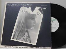 Capitol Disc Jockey Album, October 1967   Capitol M--