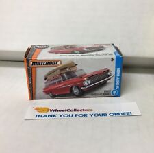 '59 Chevy Wagon * RED *  Matchbox Power Grabs * YB17