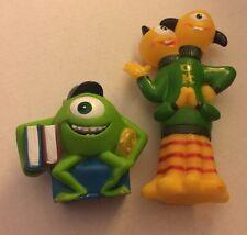 Disney Monsters University Mike And 2 Headed Monster Plastic Figures