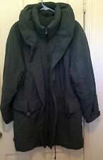 AEROS Parka Forest Green Size XL Nordstrom with tag in pocket Polyester/Nylon