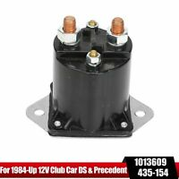 1013609 For Club Car 12V Gas Golf Cart Solenoid 1984 UP DS & Precedent