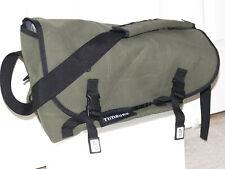 Timbuk2 KDF15 Medium Classic Messenger bag unused Olive Grey