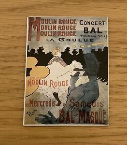 Fridge Magnet Moulin Rouge Paris