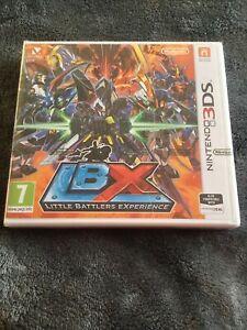 BRAND NEW/SEALED Little Battlers Experience LBX Nintendo 3DS XL & 2DS Battle PAL