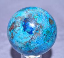 Shattuckite 3.2 inch 1.62 lb Natural Crystal Sphere - Congo