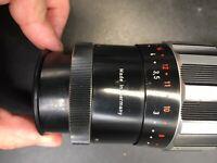Vintage Schneider-Kreuznach Tele-Xenar 1:5,5/200 lens with cap