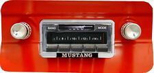 Custom Autosound 300w Radio AM FM Stereo for 1964-66 Mustang iPod, USB inputs