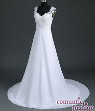 ?Brautkleid Hochzeitskleid Weiß Größe 34-54 zur Auswahl+NEU+SOFORT+W191?