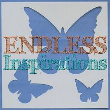 "6""x6"" Endless Inspirations Stencil, Butterfly - Free US Shipping"