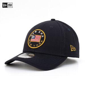 New Era 9Forty Cap US Flag Pack New York Mütze Verstellbar Flagge Navy Blau Neu