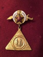 Masonic Badge OSAIR TEMPLE  IMPERIAL COUNCIL circa 1908