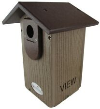 Jcs Wildlife Brown Recycled Ultimate Bluebird House w/Brown Roof & Free Shipping