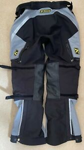 Klim Badlands Gore-Tex pro adventure trousers in good used condition