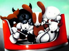 Doug Hyde Fancy a Spin Limited Edition Giclee print