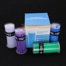 8 bottles Micro Applicators materials Brush Dental Disposable 4 COLORS