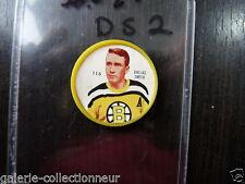 VINTAGE  SHIRRIFF COIN PUG TOKEN 1960-61  NO 116 DALLAS SMITH BOSTON BRUINS  DS2