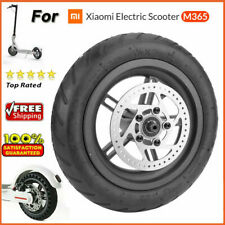 Rear Wheel Tire W/hub Disc Brake Tyre Set for XIAOMI Mijia M365 Electric Scooter