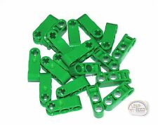 LEGO Technic - 3L Perpendicular Axle/Pin Connector, 2 Pin Holes - Green - (EV3)