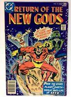 "NEW GODS #12 DC 1977 FN+ Bronze Age Comic Book ""Return of the New Gods"" Part 1"