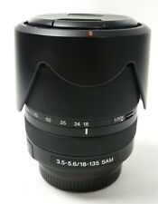 Sony 18-135mm f/3.5-5.6 R SAM DT Lens For Sony A-Mount Cameras