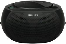 Philips AZ100B Portable CD Sound Machine Black