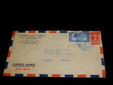 Vintage Cover, SAN JOSE, COSTA RICA, 1944 Airmail To New York, Exports Company
