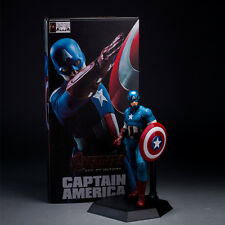 MARVEL AVENGERS AGE OF ULTRON CAPTAIN AMERICA STATUE ACTION FIGURES CRAZY TOYS
