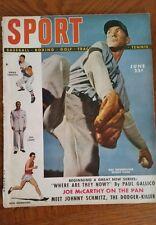 Sport Magazine June 1949 Hal Newhouser Joe Louis, Tinker, Evers, Chance, +more