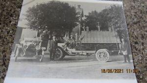 Vintage 8 x 10 Lightning Rod Ball Weathervane Salesmen Trucks Photograph