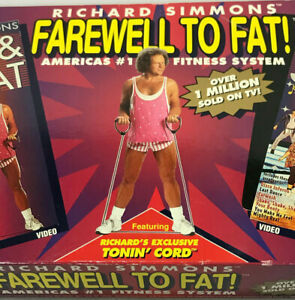 Richard Simmons Farewell to Fat Weight Loss System As seen on TV Disco Sweat NEW