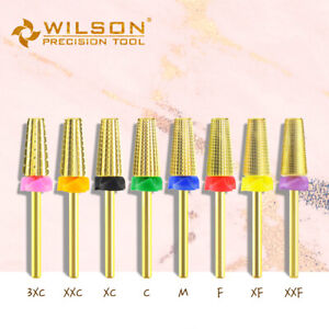 5 in 1 - WILSON Carbide Nail Drill Bit us seller
