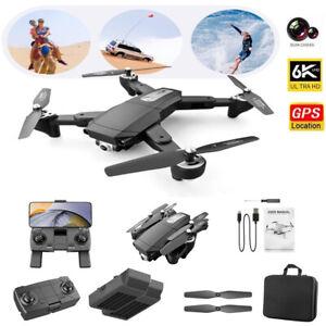 RC Drone 6k HD Wide Angle Camera WIFI FPV GPS Drone Dual Camera Quadcopter HOT