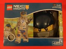 LEGO NEXO KNIGHTS CLAY PRESTIGE DISGUISE FULL BODY COSTUME SIZE SMALL NEW