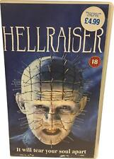 PRE-OWNED VCI Hellraiser VHS Tape