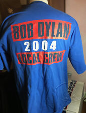BOB DYLAN 2004 Tour Crew T-Shirt Official