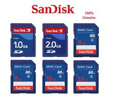 SanDisk 2G 4GB 8GB 16GB 32GB Tarjeta De Memoria SD SDHC Digital genuino cámara A