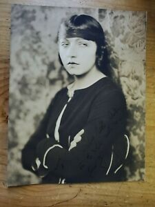 Ruth Chatterton - Autographed B&W Photo