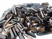 2lb 100-140PCS Lot black Quartz Crystal Points A+ Terminated Wand Healing