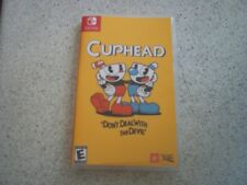 CUPHEAD: BOX ART & EMPTY NEW SWITCH STYLE CASE ONLY.