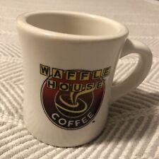 tuxton waffle house logo red yelow black mug EUC