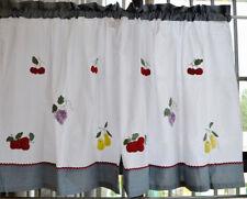 Pair  Lovely Kitchen Curtain/Cafe Curtain 150cm x 76cm