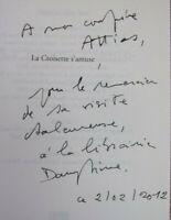 """Envoi autographe. Daniel Rocher. La croisière s'amuse. """" Fantaisie pour flutes """""""