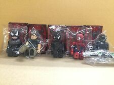 Medicom Marvel Spiderman 3 Kubrick Set of 5
