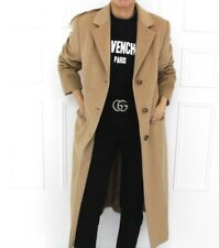 Basler Designer Camel Angora Cashmere Blazer Long Blogger Chic Coat 40 12 14