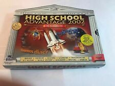 Educational High School Advantage 2002 10 Subjects Software 6 Cd Learning