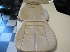 "1996 Camaro Z28 SS RS Neutral Tan color Seat Covers ""1 FRONT UPPER & LOWER"" NEW!"